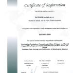 ISO certifikát- Aj