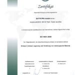 ISO certifikát- Nj